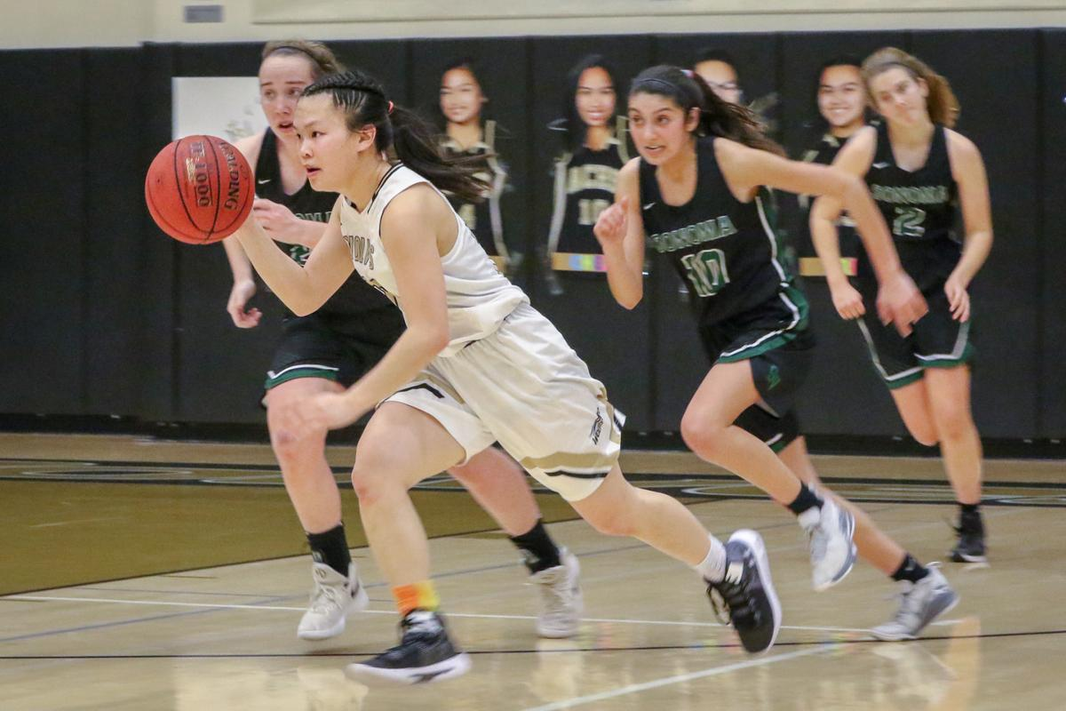 Sonoma Valley at American Canyon girls basketball