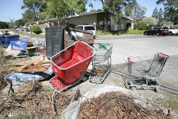Man calls abandoned carts a blight | Local News | napavalleyregister.com