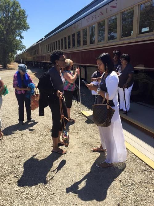 Women removed from Napa Valley Wine Train