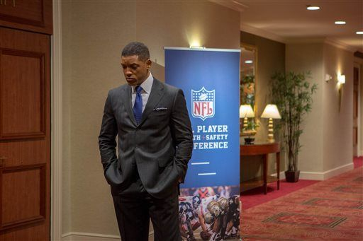 Will Smith as Bennet Omalu in 'Concussion'