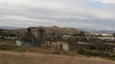 AmCan ruins proposed town center site