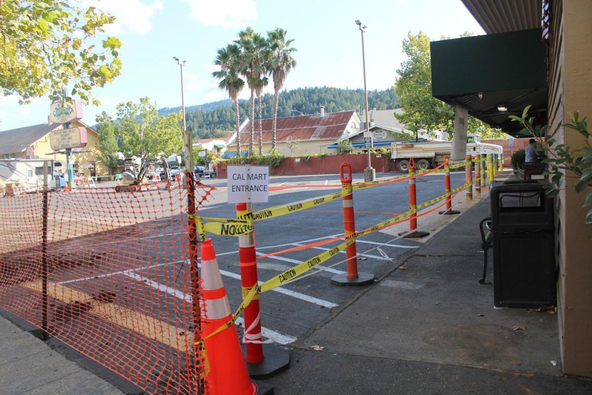 Cal Mart parking lot