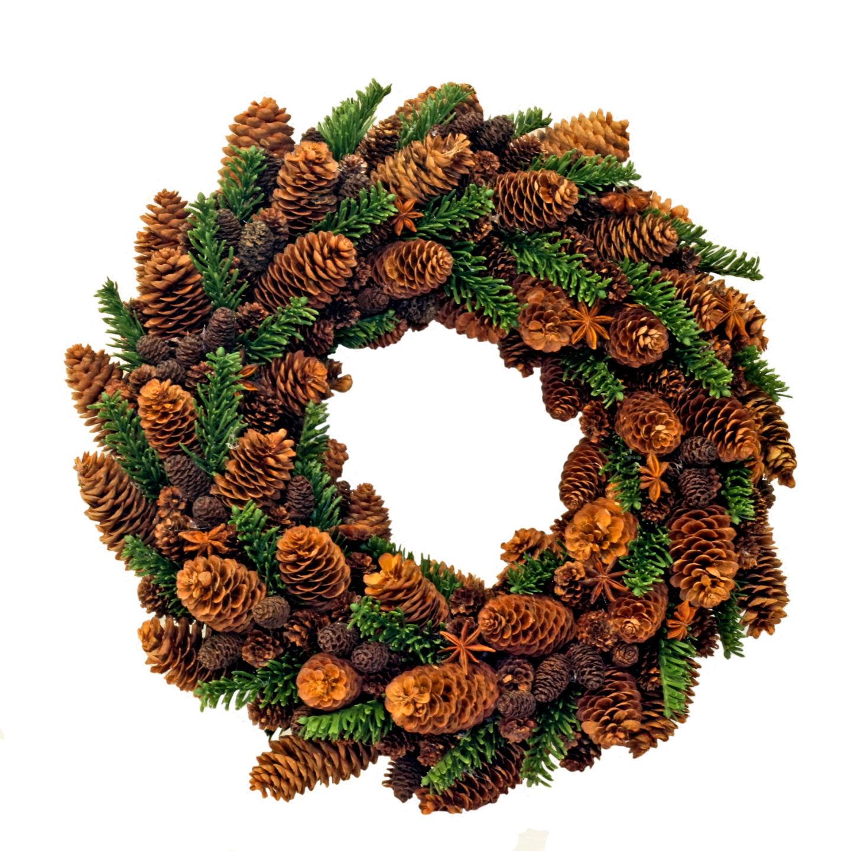 Winter Wreaths Part - 40: Making A Winter Wreath