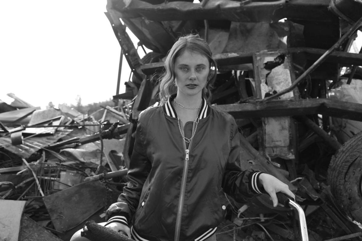 Daphne Steele at Clover Flat Landfill