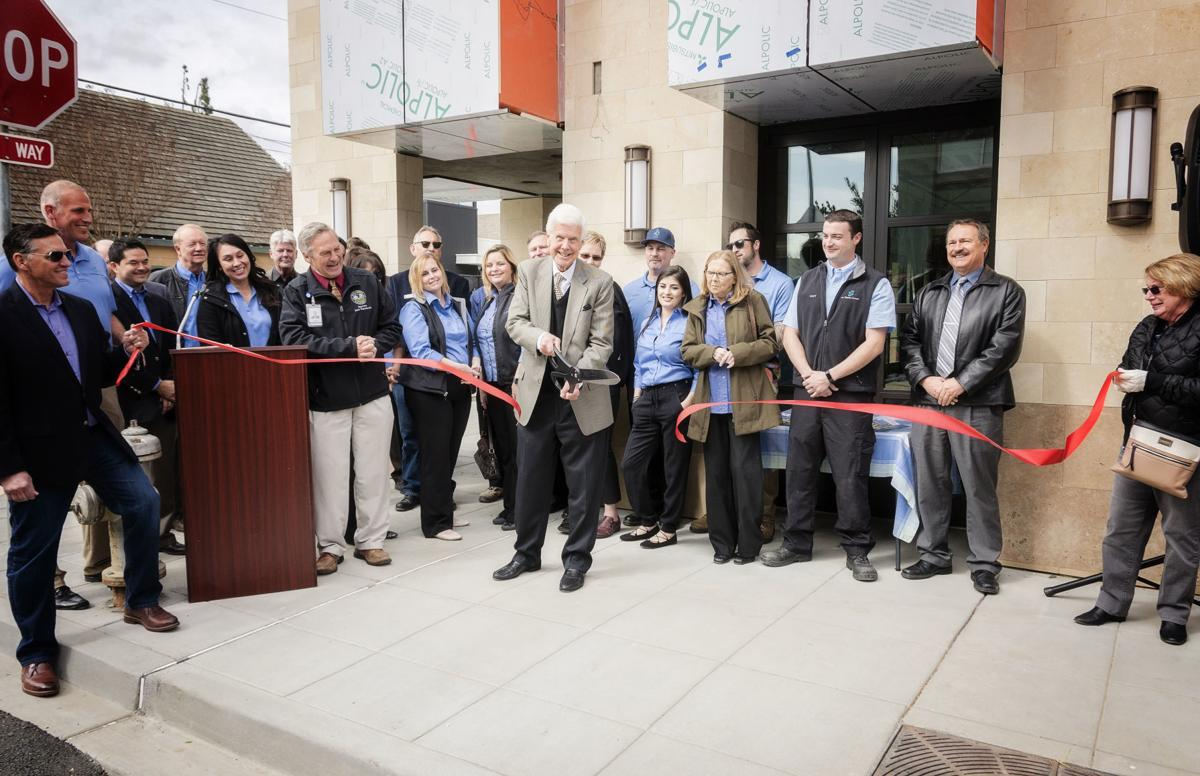 The Wiseman Company hosted a ribbon cutting at 1300 Main Street