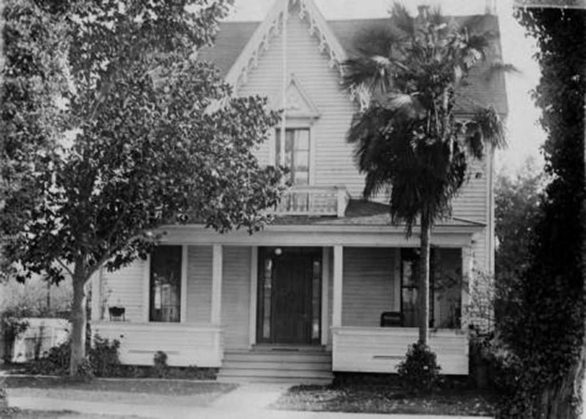 Judge Johnson and Sarah Horrell House - circa 1905 with bargeboard.jpg