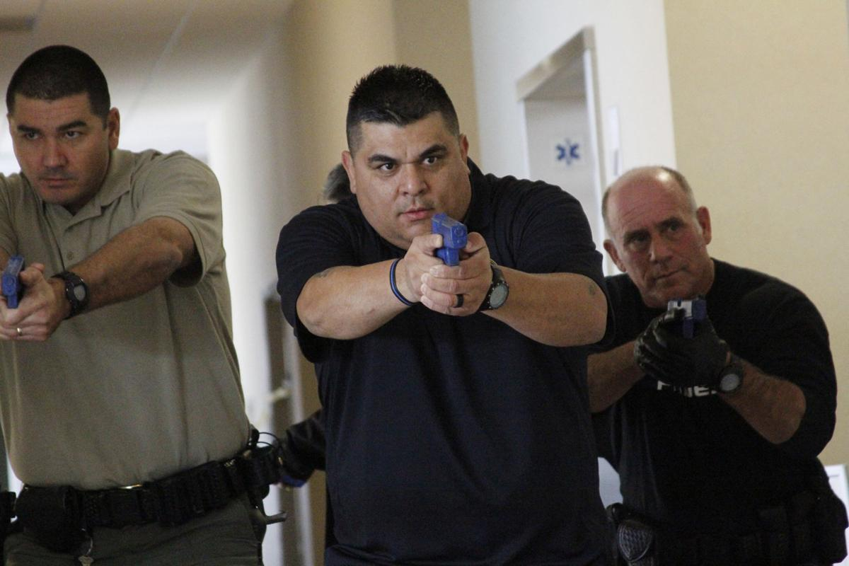 FBI conducts active shooter training in Napa