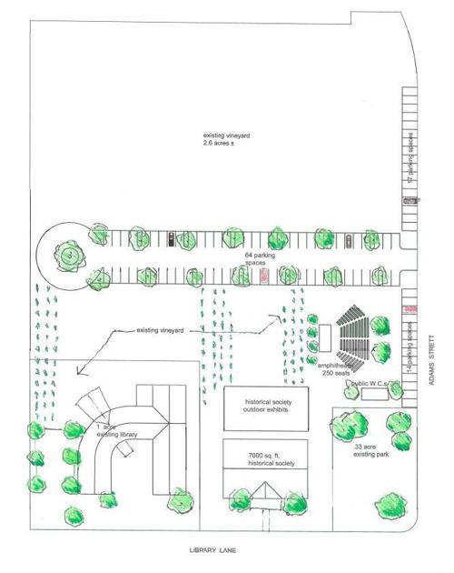 Anthony Micheli's Adams Street plan