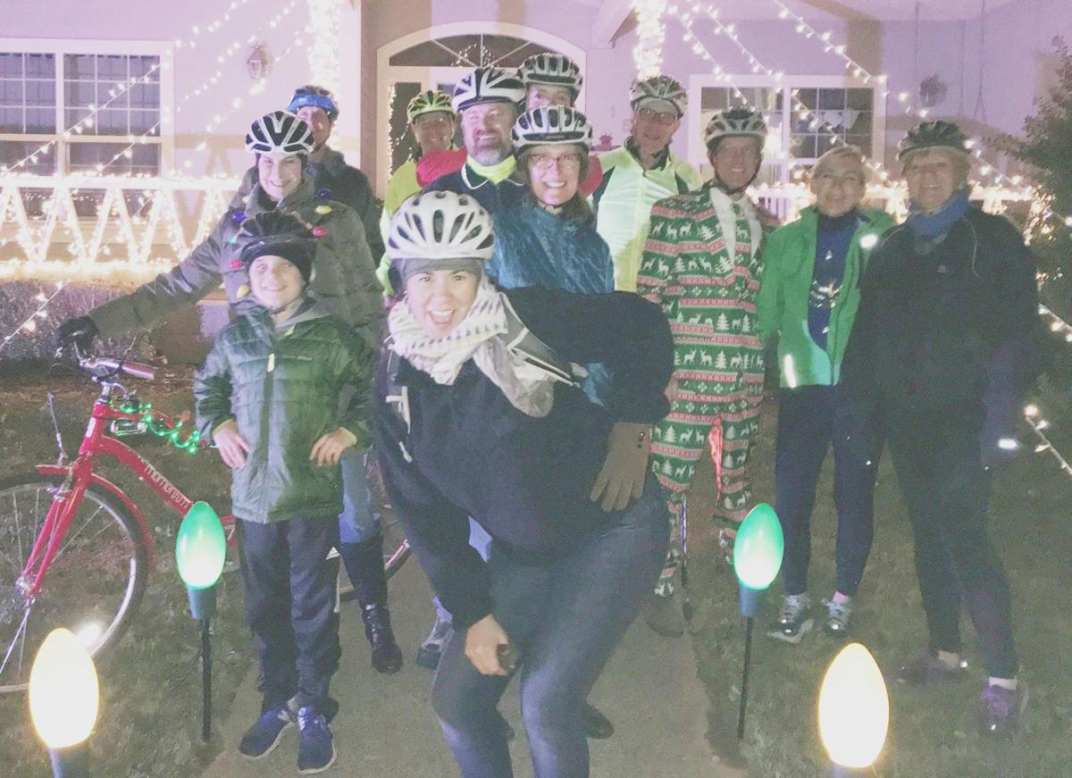 Christmas bike ride