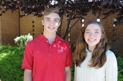 Jordan Bowman-Davis and Mary Catherine Hyde.