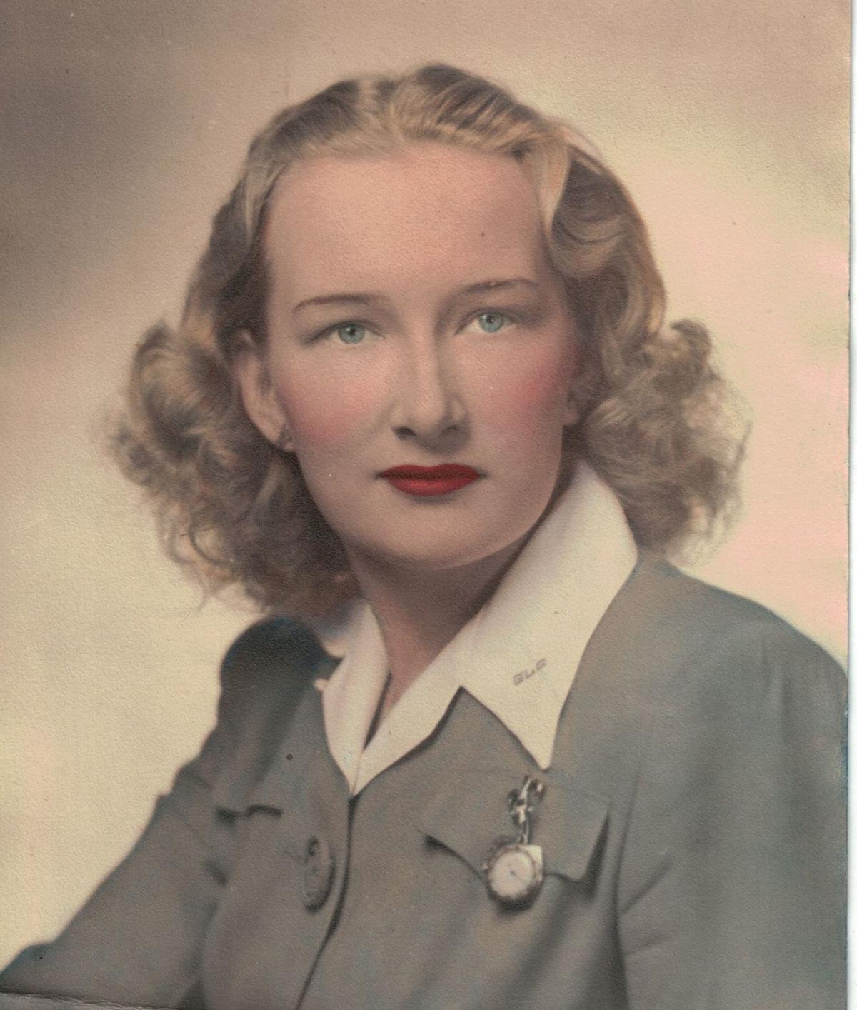 Greta Ericson during WWII