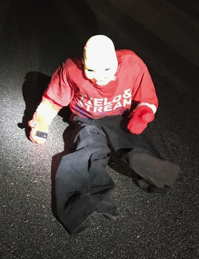 Woman nearly carjacked after stopping for dummy in road