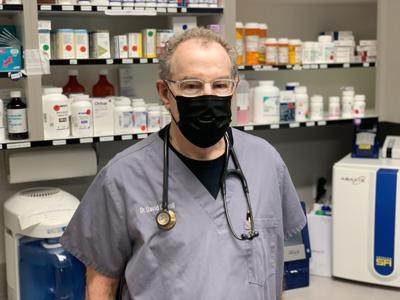 Dr. David Carroll at Napa West Pet Hospital.