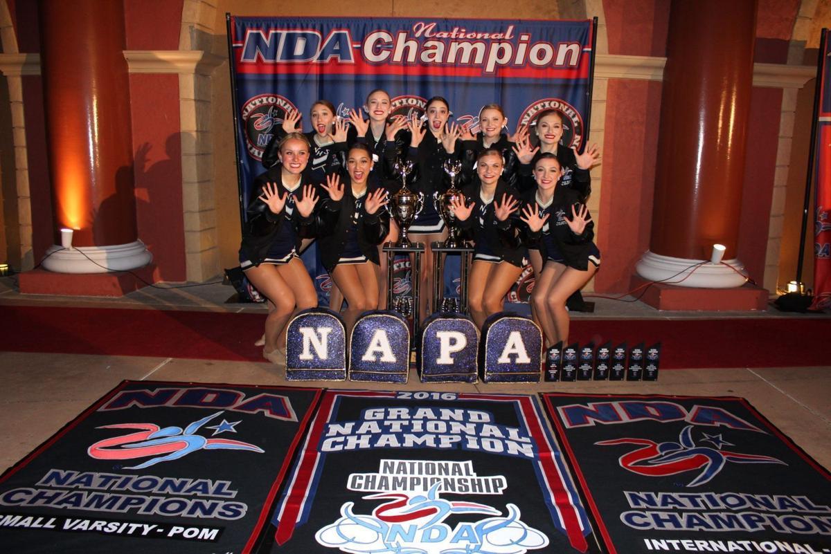 The Napa Varsity Spiritleaders
