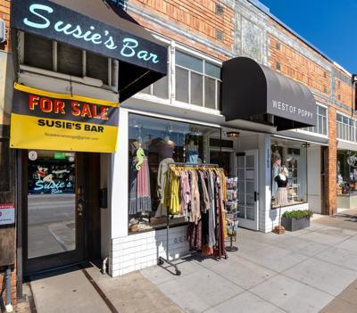 Susie's Bar in Calistoga