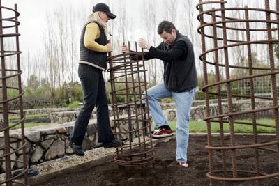 Reusing Copia's gardens