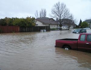 Flooding hits American Canyon
