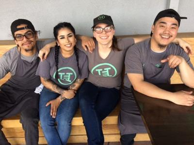 Heritage Eats employees/NVC students