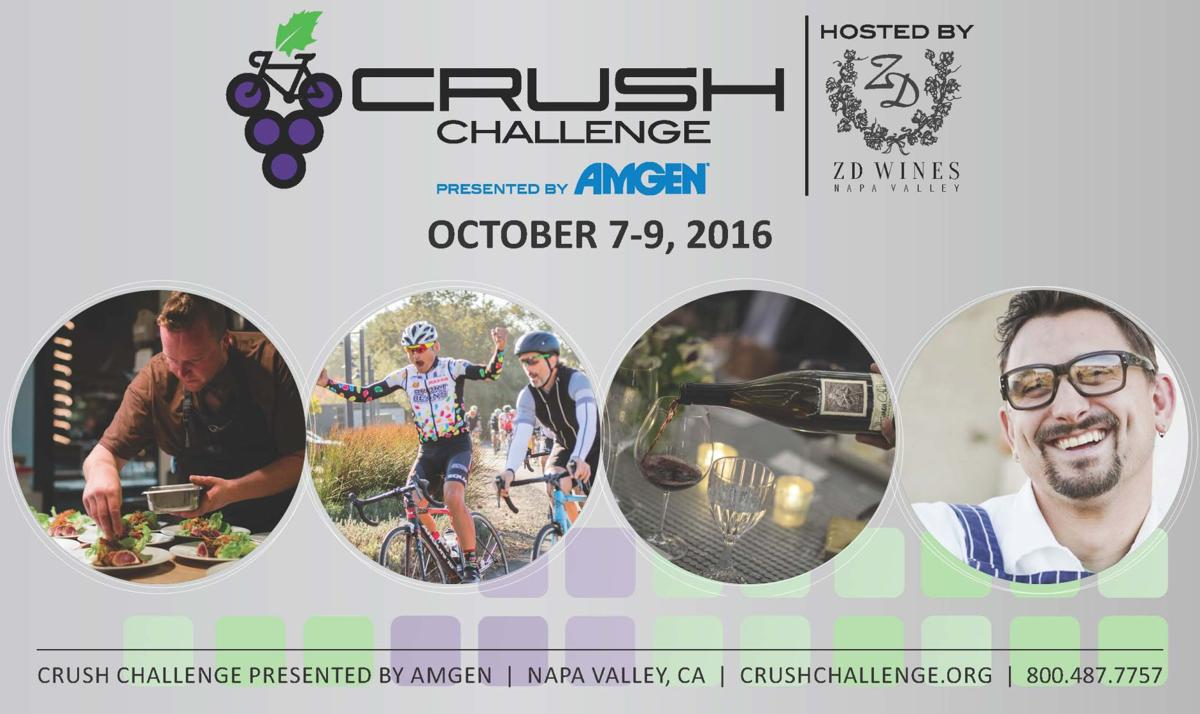 Crush Challenge presented by Amgen, hosted by ZD Wines