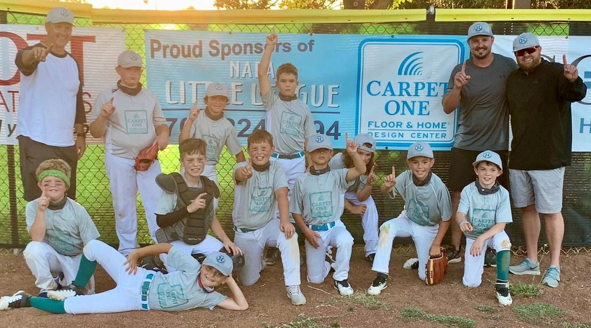Carpet One, a Napa Little League Minor-A Division baseball team