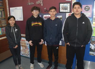RLS eighth-graders