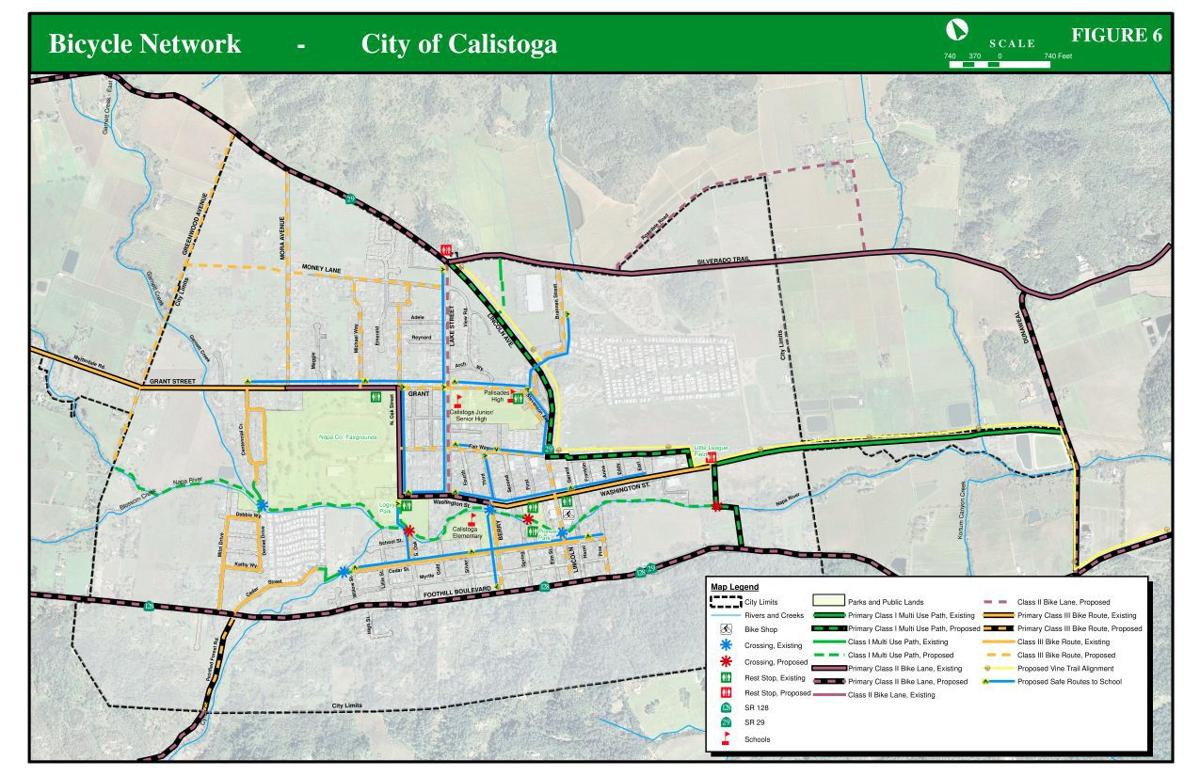 Calistoga's section of the Vine Trail is nearly ready to ... on serramonte map, sonoma map, california map, angwin map, auberry map, hayfork map, lafayette map, cedar ridge map, hacienda map, dollar point map, st. augustine map, forestville map, burney map, brooktrails map, downieville map, napa map, san francisco wineries map, port costa map, chualar map, clayton map,