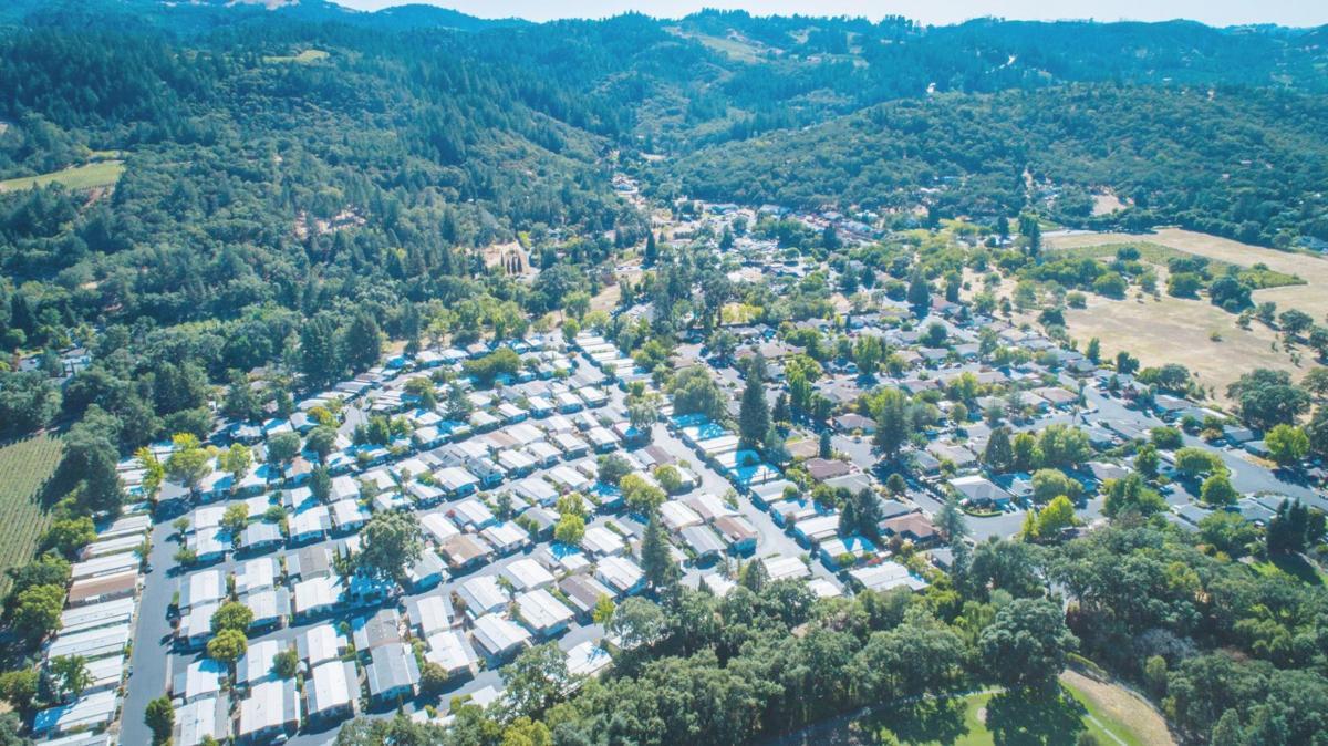 Rancho De Calistoga mobile home park