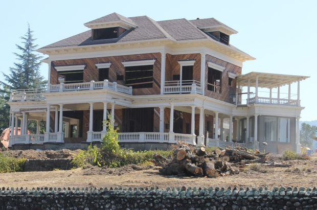 Grandview Hotel Under Construction St Helena News