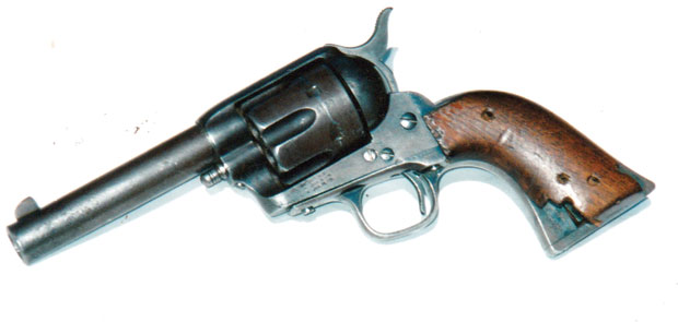 Buck English's gun
