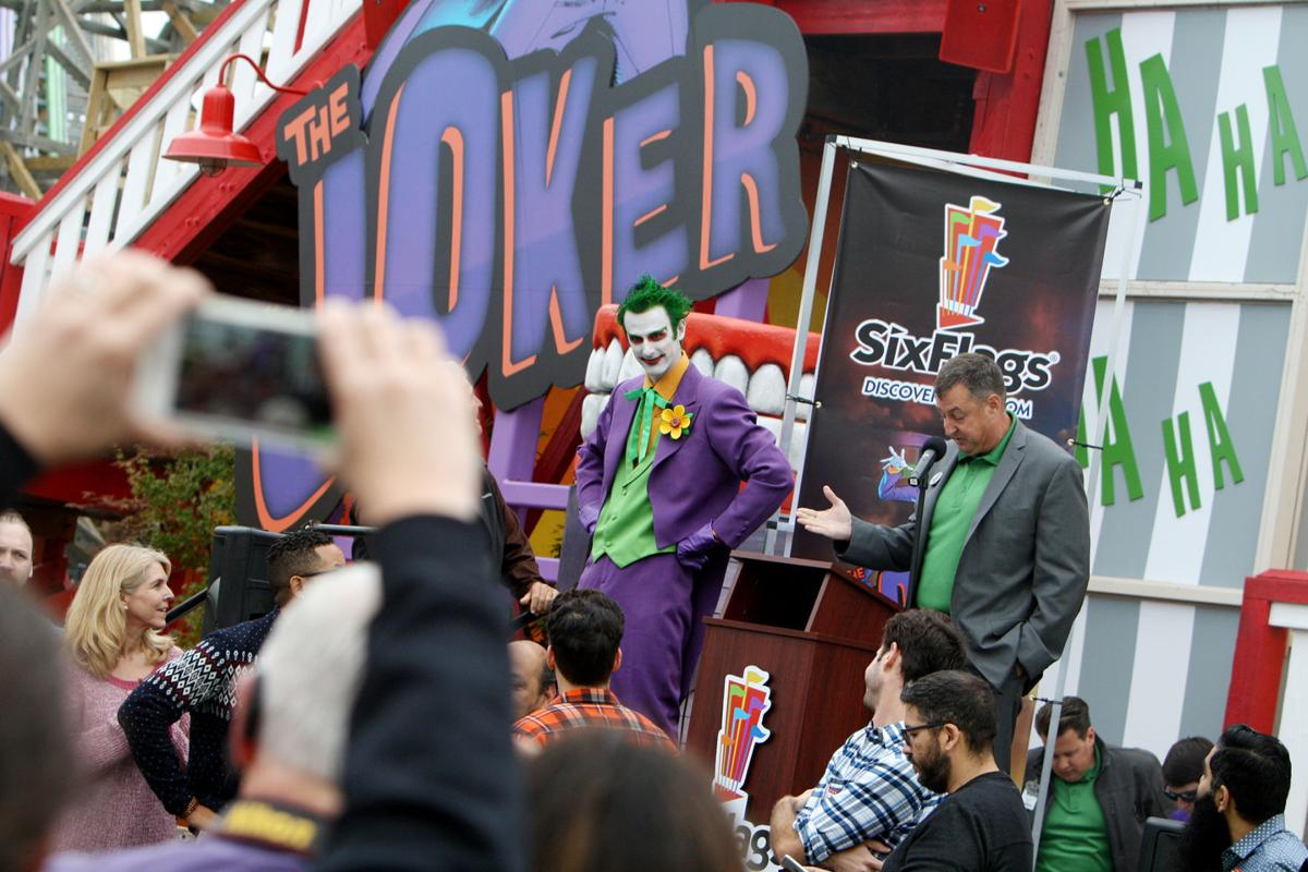 'The Joker' at Six Flags Discovery Kingdom