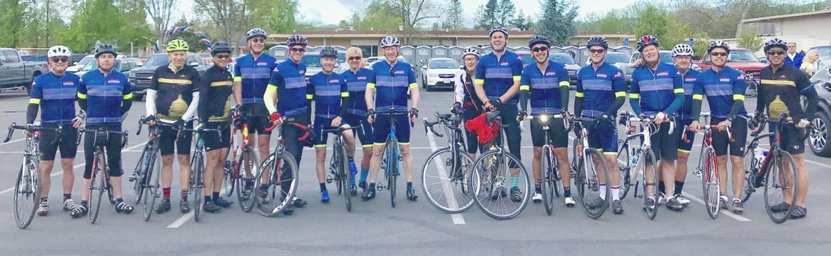 Team Thompson at Napa Rotary Club's Cycle4Sight