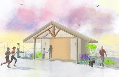 Wetlands Edge bathroom rendering
