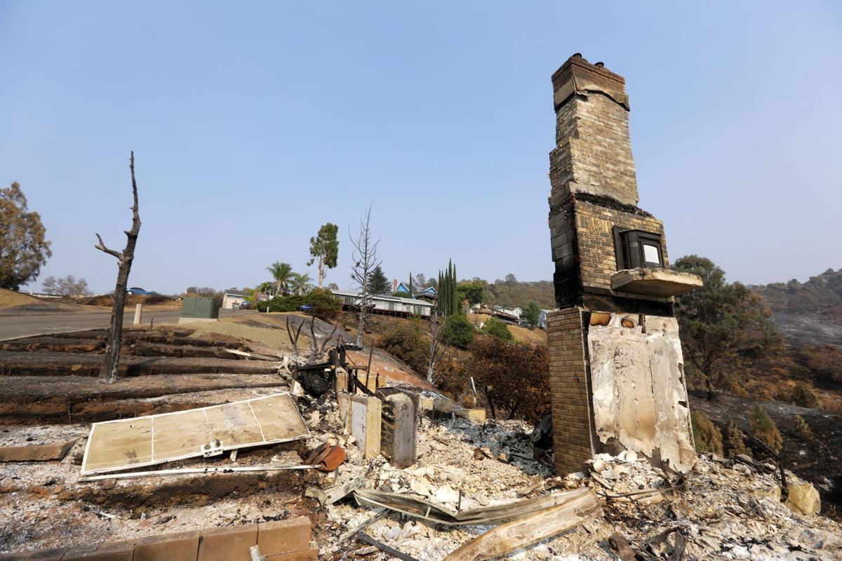 Hennessey Fire destroys homes at Berryessa Highlands