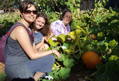 Moving Forward pumpkin patch and residents