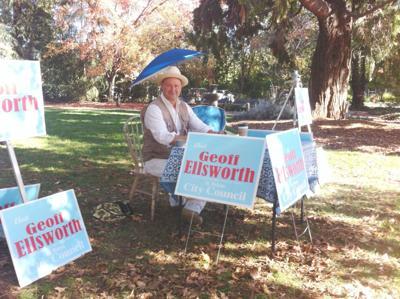 Geoff Ellsworth at Lyman Park
