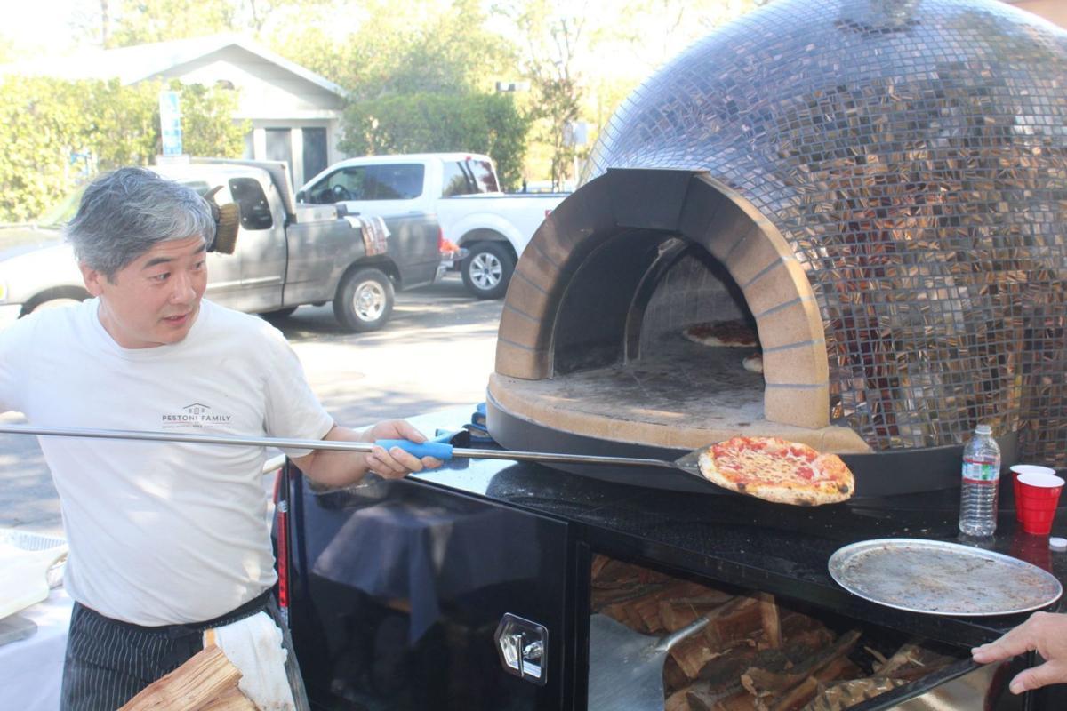 Pestoni Family Winery pizza