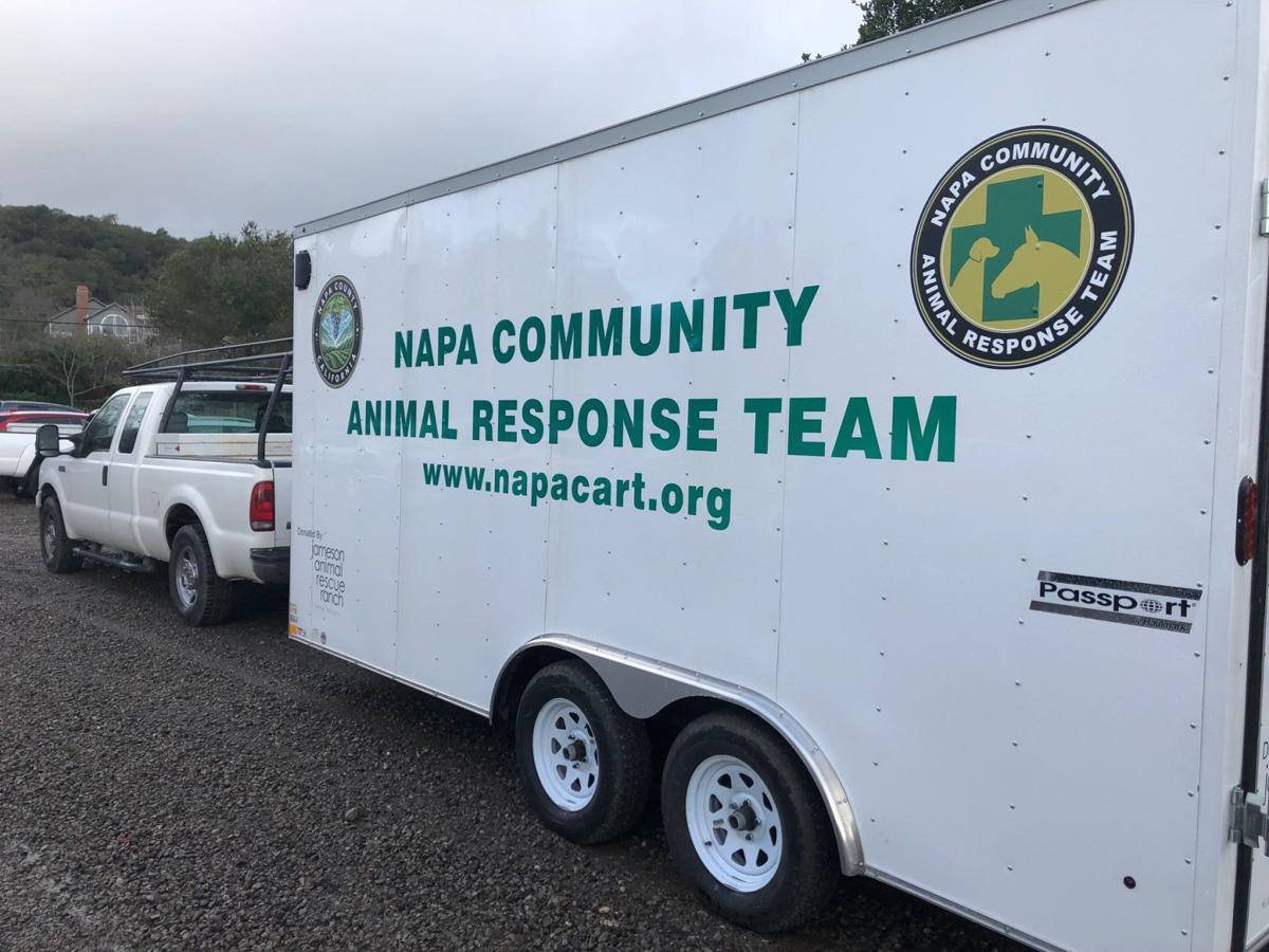Napa Community Animal Response Team training