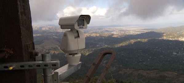 PG&E wildfire camera