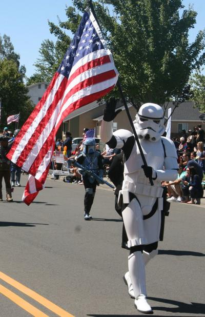 Stormtrooper American Canyon Fourth of July parade (copy)