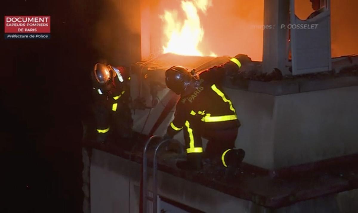 10 Die In Paris Arson Fire Police Arrest Drunken Woman