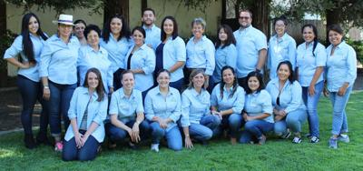 The current staff of the UpValley Family Centers