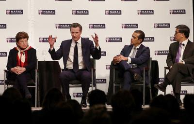 Newsom cash leads rivals in race for California governor