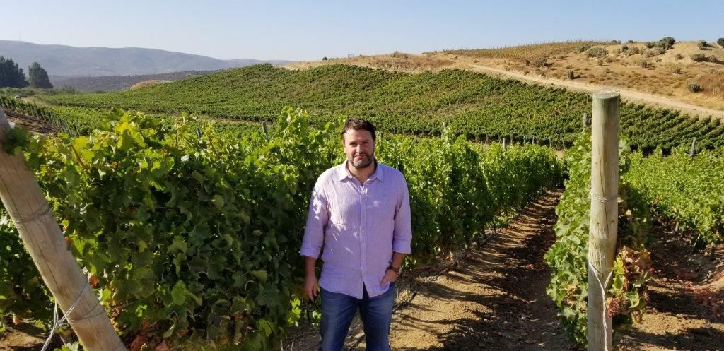 Talabi chief winemaker Felipe Muller