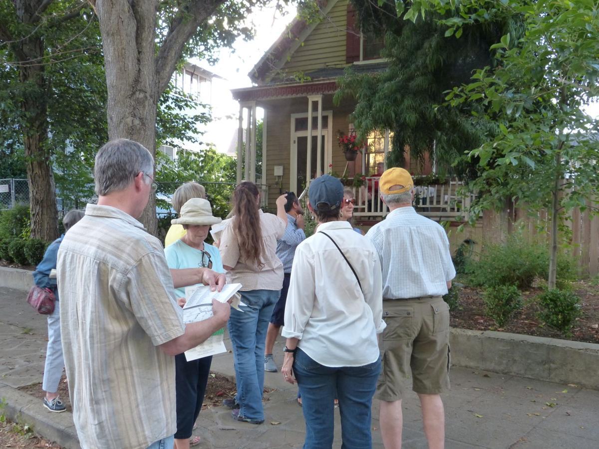 UC Master Gardeners old town Napa tree walk