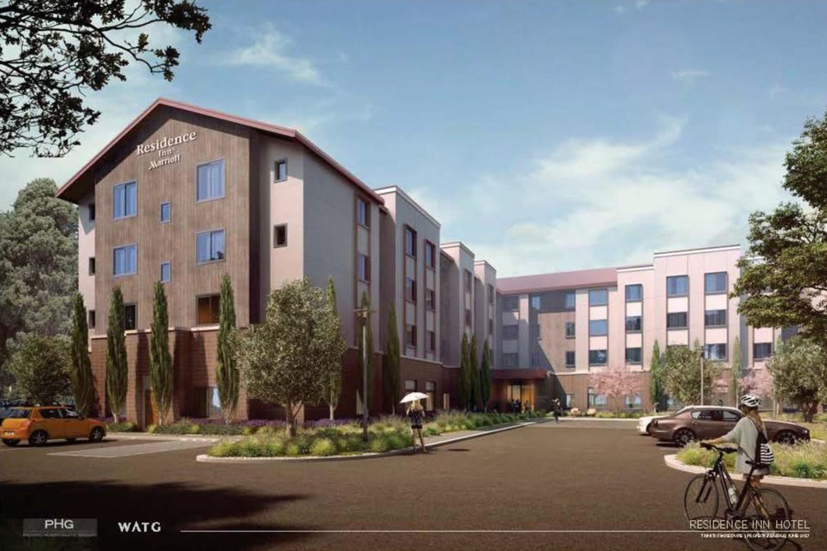 Marriott hotel planned in south Napa