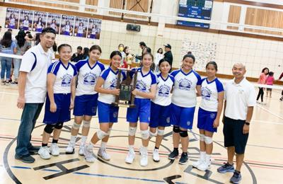 Holy Spirit volleyball