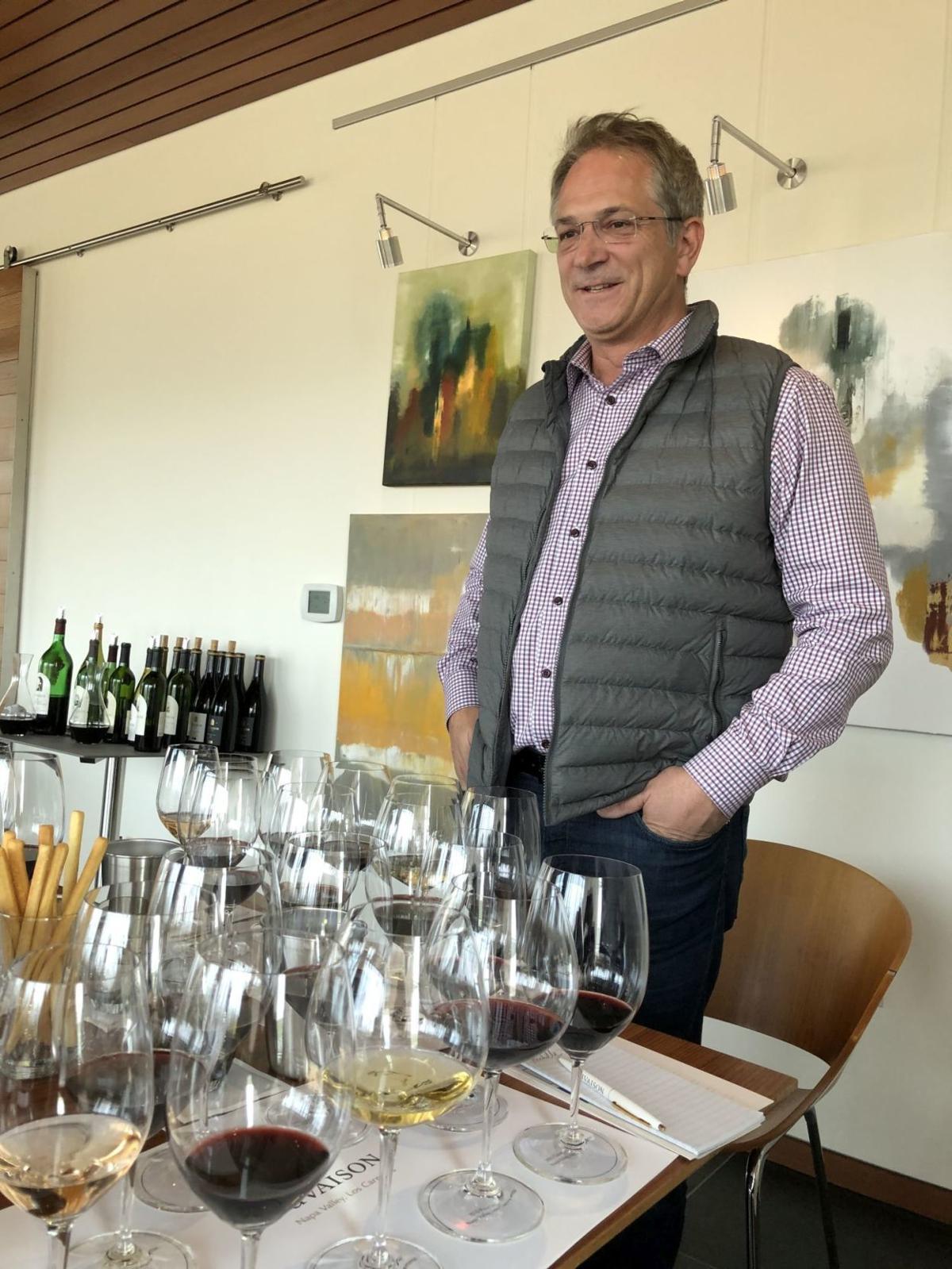 Dan Zepponi, president and CEO of Cuvaison Estate Wines