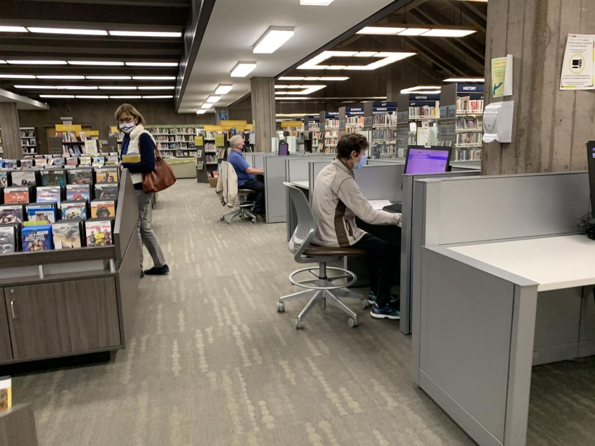 Napa library computers