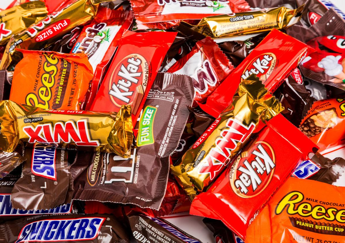 Hallowen candy