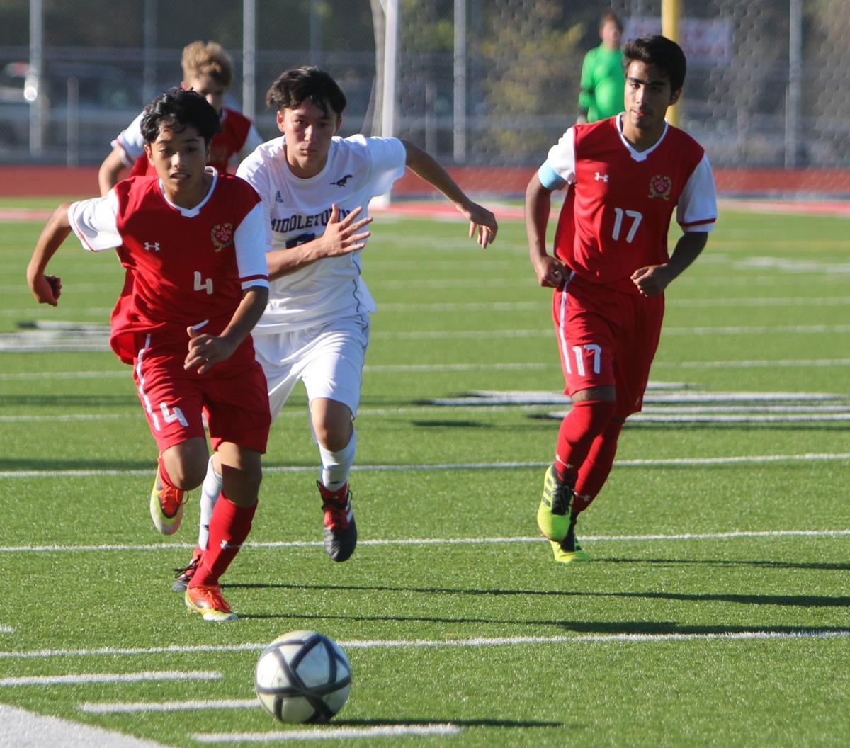 St. Helena boys soccer